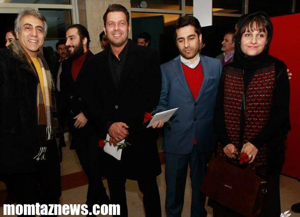 گزارش تصویری حضور بازیگران در افتتاحیه سی و سومین جشنواره فیلم فجر