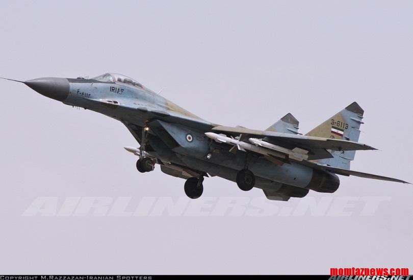 دلیل پرواز جنگنده میگ ۲۹ با ارتفاع کم در شهر تهران + فیلم